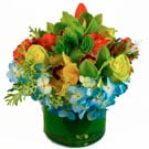 Orange Burst Floral Arrangement