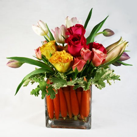 Easter Basket Flower Arrangement    92 San Francisco Florist Rossi xwgv7ra9