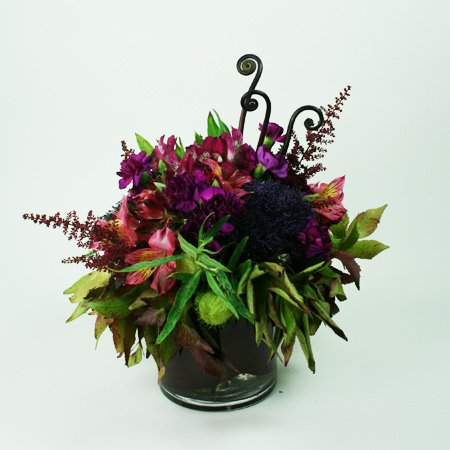 Violet Sunset Floral Arrangement