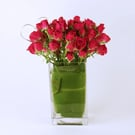 Hearts Ablaze Floral Arrangement
