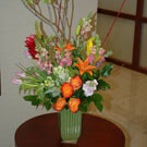 """Corporativo Tropicale"" Floral Arrangement"