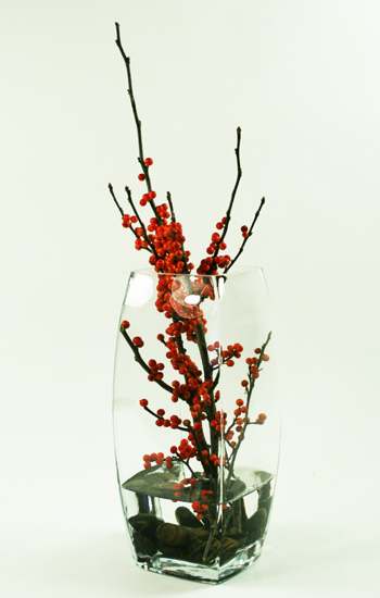 Pure Ilex Floral Arrangement