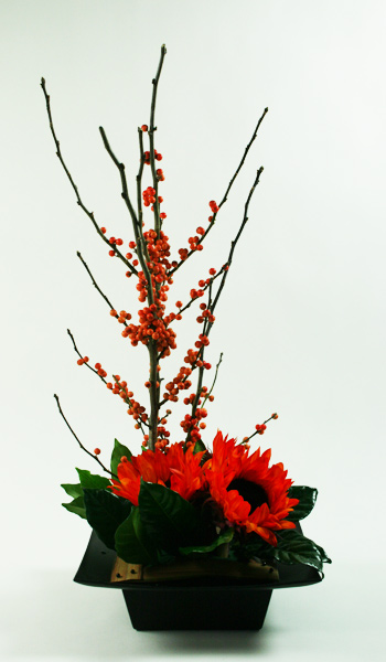 Autumn Sunset Floral Arrangement