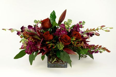 European-Garden Style Mix Flower Arrangement