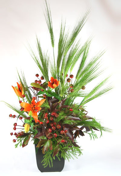 Pacific Harvest Floral Arrangement