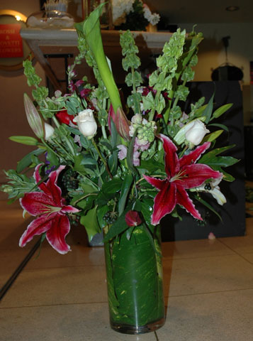 """Truth or Dare"" Floral Arrangement"